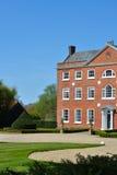 画象的英王乔治一世至三世时期房子 免版税图库摄影
