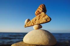 象禅宗的平衡 图库摄影