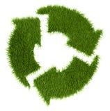 象草回收符号 图库摄影