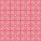 象设计无缝的背景样式例证的充分地被填装的草在带红色桃红色口气 免版税库存照片