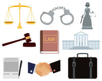 象集合法律 库存图片