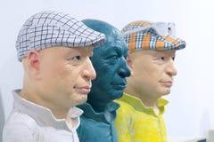 画象雕塑 免版税库存照片