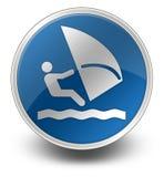 象,按钮,风帆冲浪的图表 库存例证