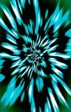 豪华五颜六色的例证 大蓝色花 图库摄影