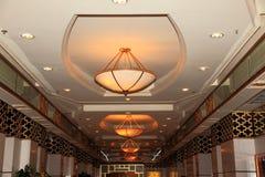 豪华全部大厅的旅馆 库存图片