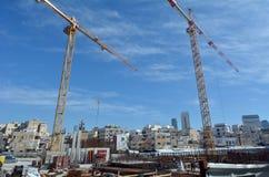 豪华公寓发展在特拉维夫,以色列 库存照片