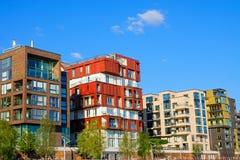 豪华公寓在汉堡 免版税图库摄影