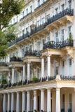 豪华公寓在肯辛顿 中心伦敦居民住房 伦敦英国 免版税库存图片