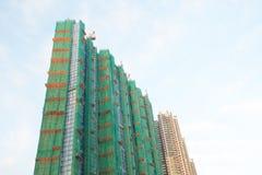 豪华公寓建设中在LOHAS公园 免版税库存照片