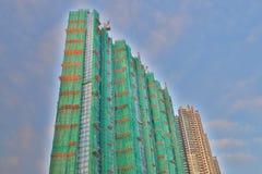 豪华公寓建设中在LOHAS公园 库存照片