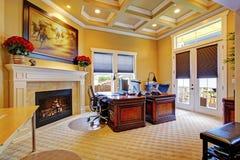豪华办公室室内部 免版税库存照片