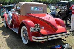 豪华古色古香的美国尾锥部汽车 免版税图库摄影