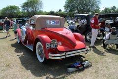 豪华古色古香的美国尾锥部汽车 库存图片