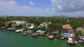 豪华家在迈阿密海滩 影视素材