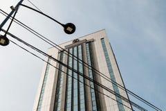豪华希拉顿旅馆 免版税库存照片