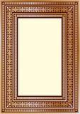 豪华您的艺术设计的葡萄酒华丽框架 库存照片