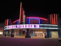 豪华戏院在萨利马里兰 库存照片