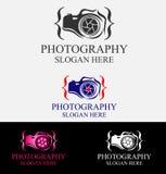 豪华摄影商标设计 库存例证