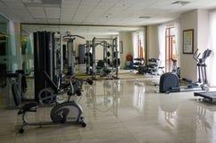 豪华旅馆健身房室在大叻,越南 免版税库存图片