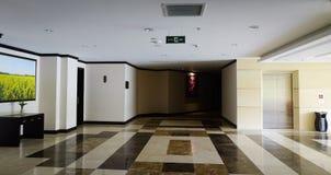 豪华旅馆内部在大叻,越南 免版税库存照片
