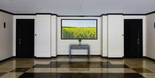 豪华旅馆内部在大叻,越南 库存照片