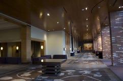 豪华旅馆大厅 图库摄影