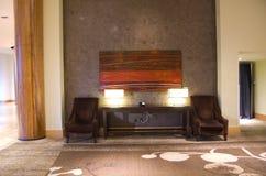 豪华旅馆大厅 库存照片