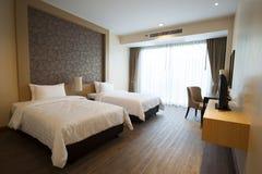 豪华旅馆室 免版税库存图片