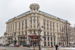 豪华旅馆布里斯托尔在华沙,波兰 图库摄影