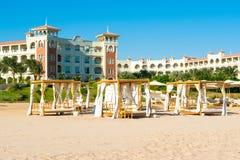 豪华旅馆风景在红海的 库存图片