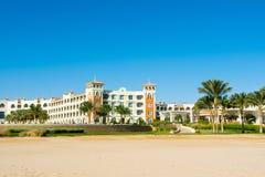 豪华旅馆风景在红海的 库存照片
