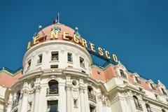 豪华旅馆Negresco 免版税库存照片