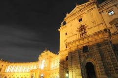 豪华晚上维也纳 免版税库存图片