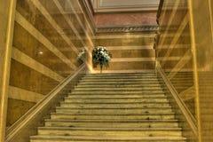 豪华楼梯 库存照片