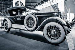 豪华汽车奔驰车24/100/140 PS弗利特伍德, 1924年 图库摄影