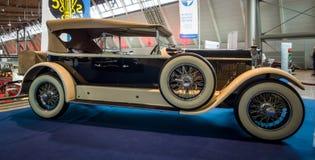 豪华汽车奔驰车24/100/140 PS弗利特伍德, 1924年 库存图片
