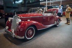 豪华汽车奔驰车170S (W191)敞蓬车A, 1950年 库存照片