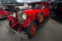 豪华汽车奔驰车300 Typ 12/55 PS 1926年 图库摄影