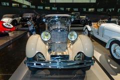 豪华汽车奔驰车Typ SS (超级体育), 1930年 库存图片
