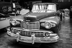 豪华汽车林肯大陆小轿车 免版税库存照片
