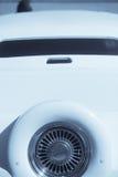 豪华汽车的备用轮胎 库存图片