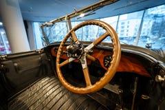 豪华汽车罗斯劳艾氏幽灵内部我打开Tourer, 1926年 库存照片