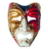 豪华狂欢节面具 库存照片
