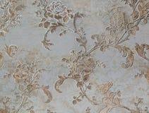豪华玫瑰花背景,装饰墙壁 免版税图库摄影