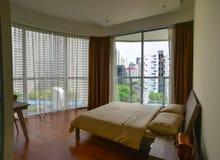豪华现代旅馆客房在新加坡 图库摄影