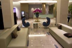 豪华现代旅馆大厅家具 库存照片