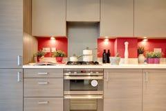 豪华的厨房 免版税库存图片
