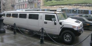 豪华的大型高级轿车 免版税库存图片