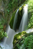 豪华的瀑布 库存照片