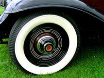 豪华空白墙壁轮胎 免版税库存照片